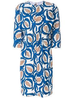 платье с растительным принтом  Marni