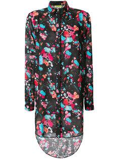 рубашка с цветочным принтом Versace Jeans