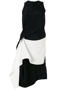 двухцветное платье  Roland Mouret