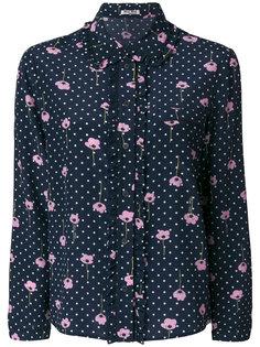 пижамная рубашка с цветочным принтом  Miu Miu