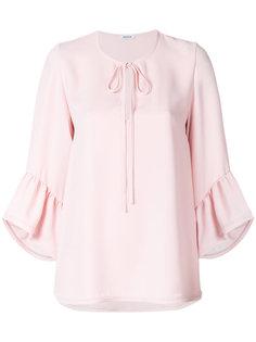 блузка с оборками на рукавах  P.A.R.O.S.H.