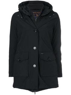 многослойное стеганое пальто Woolrich