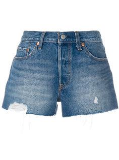 джинсовые шорты с потертой отделкой Levis Levis®
