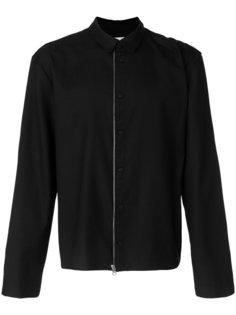 куртка с застежкой на молнию и на пуговицы Helmut Lang