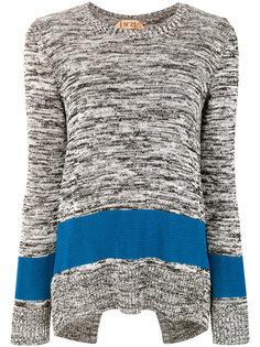 свитер колор-блок  Nº21