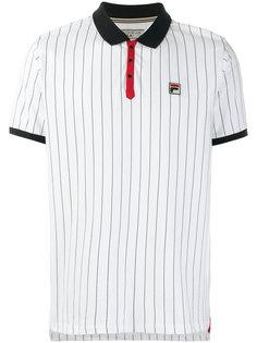 футболка-поло с контрастным воротником Fila