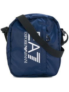 logo print messenger bag  Ea7 Emporio Armani