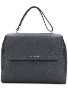 большая сумка-тоут с логотипом  Orciani