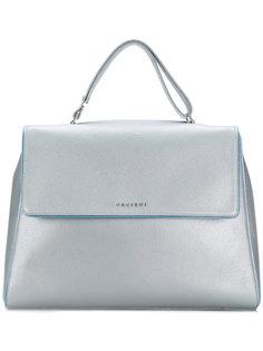 сумка-тоут с логотипом  Orciani