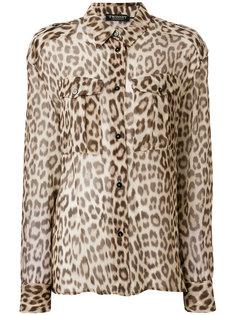 рубашка с леопардовым принтом  Twin-Set