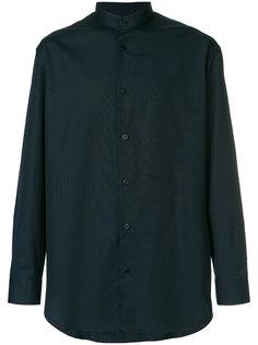 collarless shirt Issey Miyake