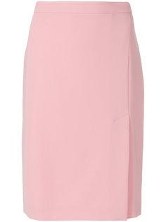 юбка-карандаш с боковым разрезом  Boutique Moschino