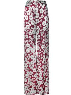 брюки с высокой талией и цветочным принтом Alexis