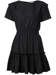 платье мини со сборками Alice+Olivia