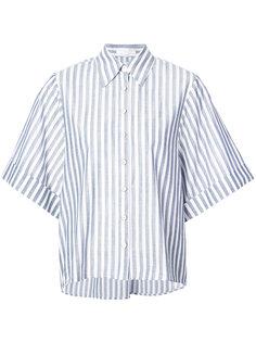 рубашка в полоску с короткими рукавами Caroline Constas