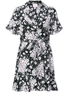 платье-рубашка с цветочным принтом Cinq A Sept