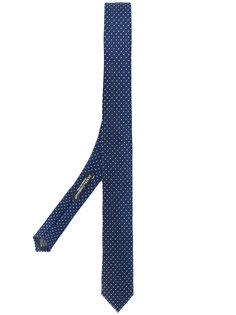 галстук с узором в горох Dolce & Gabbana
