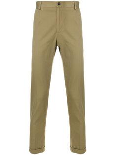 эластичные брюки-чинос Dolce & Gabbana