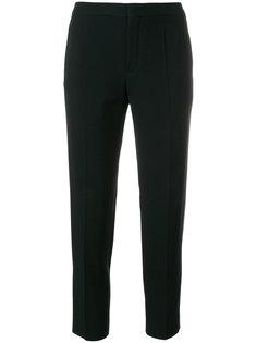 укороченные брюки со складками  Chloé