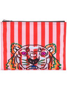 полосатый клатч Tiger Kenzo