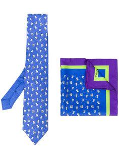комплект из галстука и нагрудного платка  Etro