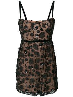 декорированное кружевное платье  For Love And Lemons