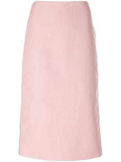 двухцветная юбка А-силуэта Marni