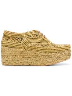 ботинки Pollux на шнуровке Robert Clergerie