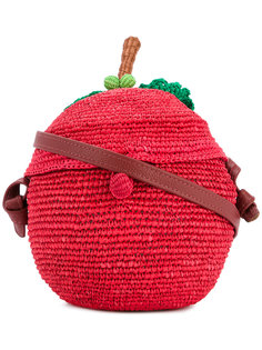 apple woven bag Sensi Studio