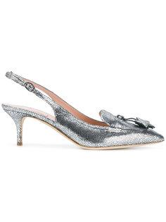 туфли с ремешком на пятке Alberta Ferretti