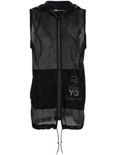 sleeveless mesh hoodie Y-3