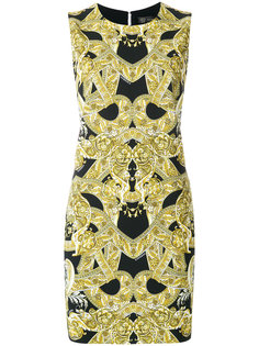 Baroque print dress Versace
