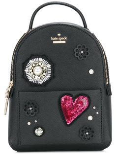 декорированный рюкзак Kate Spade