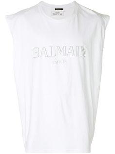 футболка без рукавов Balmain