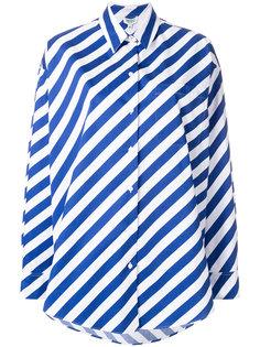 полосатая рубашка  Kenzo