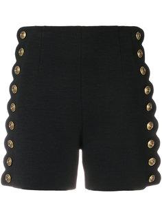 шорты с завышенной талией на пуговицах  Chloé