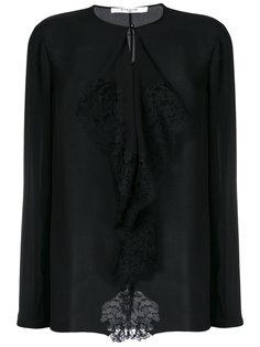 блузка с рюшами Givenchy