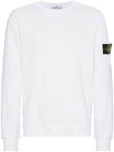 Crew Neck Logo Sweater Stone Island