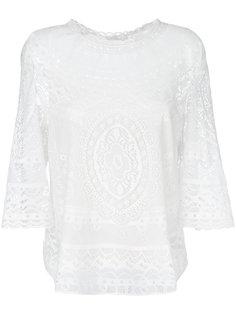кружевная блузка  Chloé