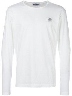 logo patch sweatshirt Stone Island