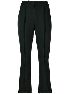 cropped exposed seam trousers Misha Collection