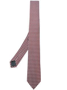 галстук с вышивкой Z Zegna