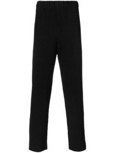 брюки в рубчик  Homme Plissé Issey Miyake