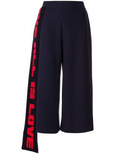 укороченные расклшенные брюки  Stella McCartney