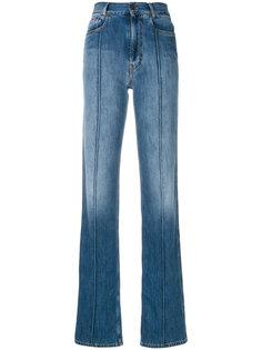 прямые джинсы со вставками  Maison Margiela