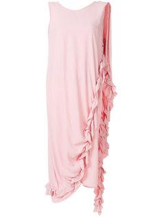 асимметричное платье с драпировкой  Marni