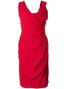 платье с вырезом хомут  Vivienne Westwood