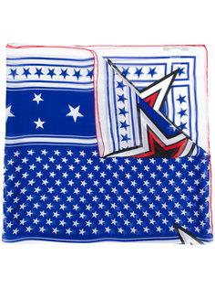 шарф с вышитыми звездами Givenchy