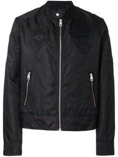байкерская куртка на молнии Just Cavalli