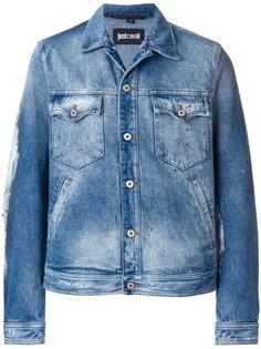 приталенная джинсовая куртка Just Cavalli